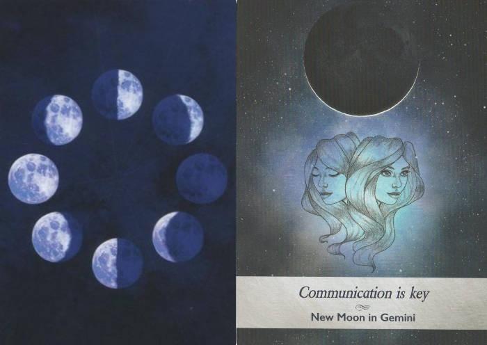 ムーンオロジーカード ふたご座の新月